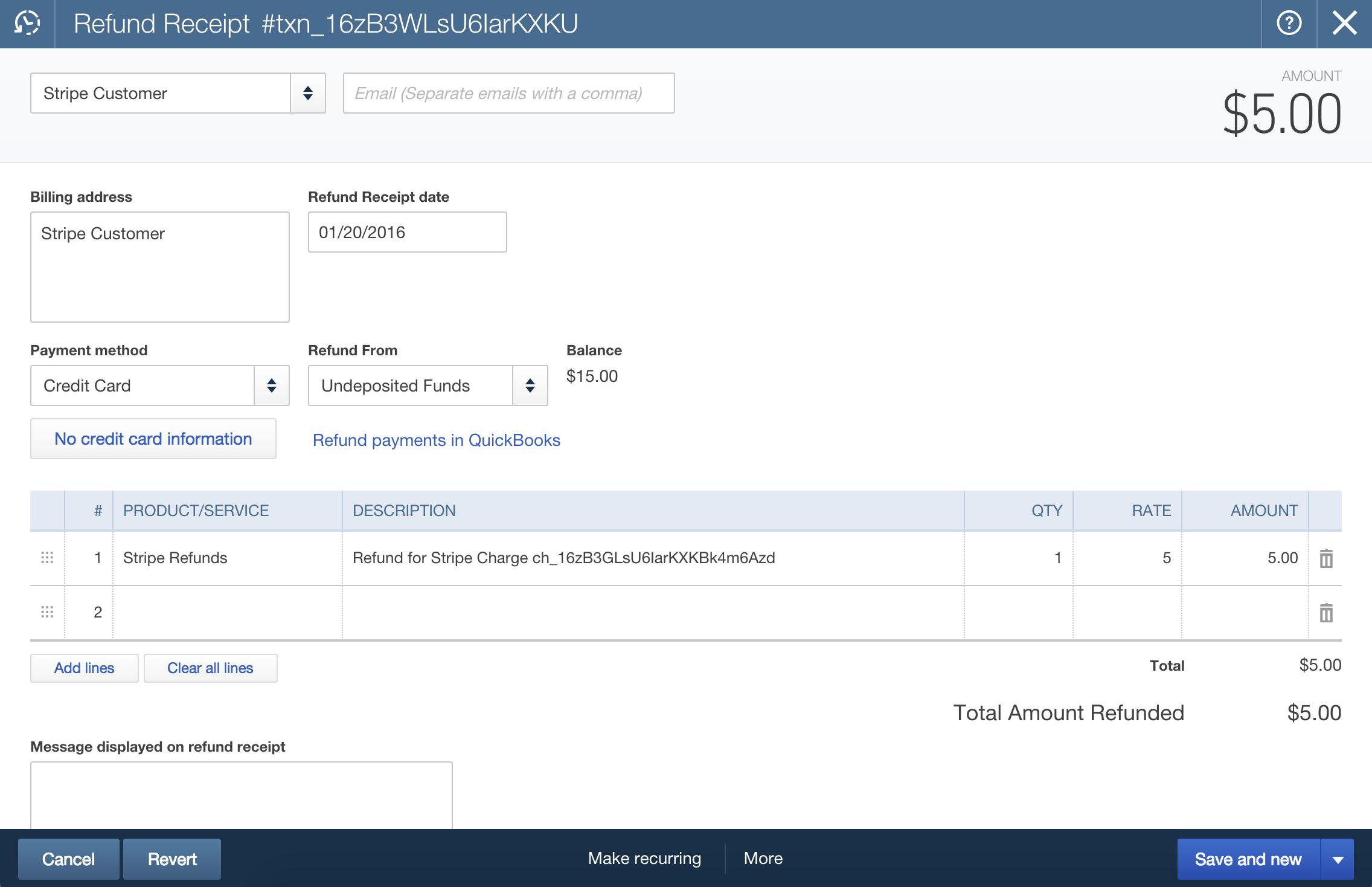 How Stripe Deposits Work with QuickBooks Online – Help Center